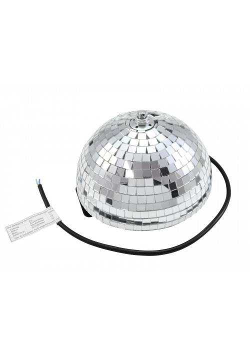 Half Mirror Ball 20cm motorized