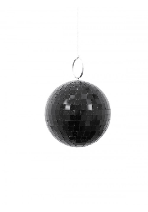 Mirror Ball 10cm black