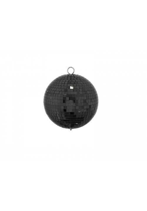 Mirror Ball 15cm black