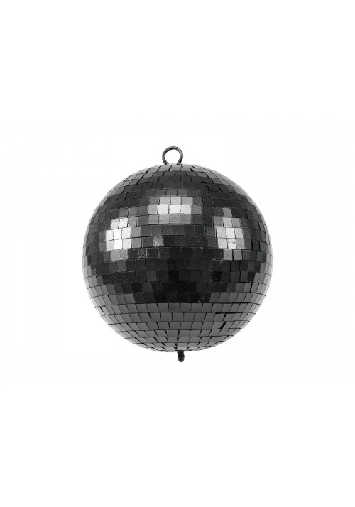 Mirror Ball 20cm black matt