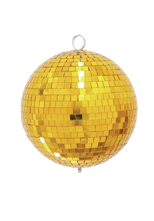 Mirror Ball 20cm gold