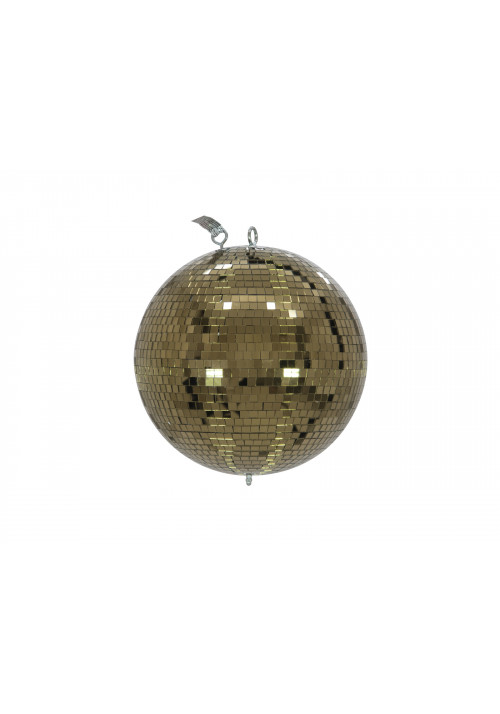 Mirror Ball 30cm gold