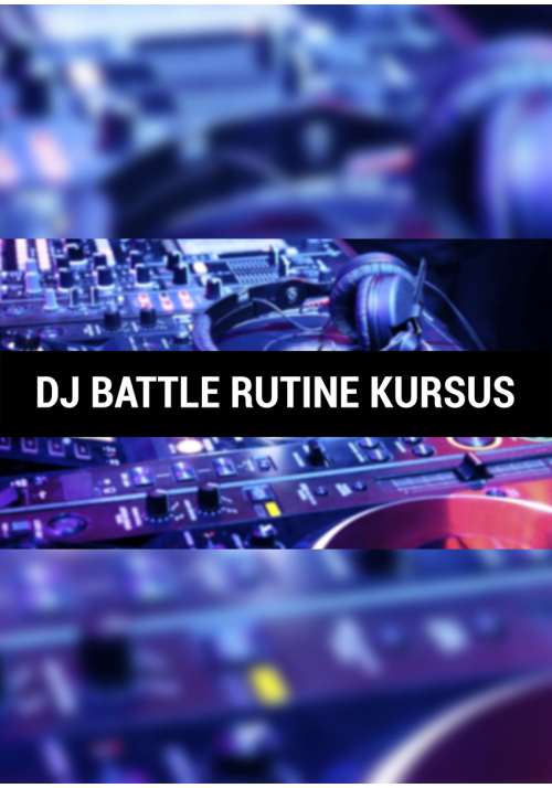 DJ Battle Rutine Kursus Startpakke 2 timer