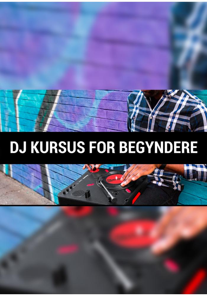 DJ Kursus Startpakke 2 timer