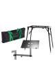 Keyboard Stativ inkl. Laptop holder & Taske