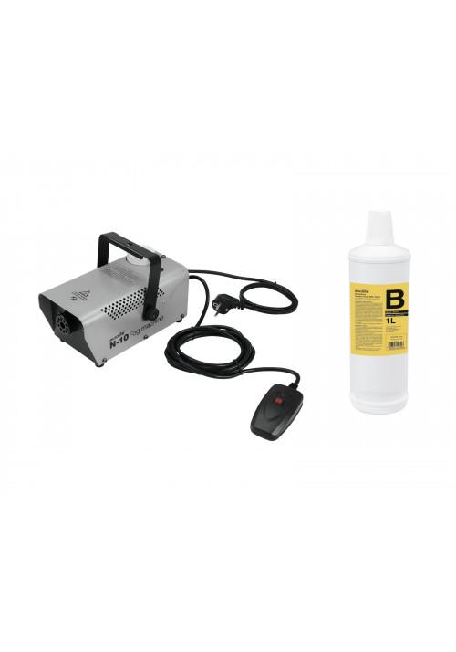 Set N-10 silver + B2D Basic smoke fluid 1l