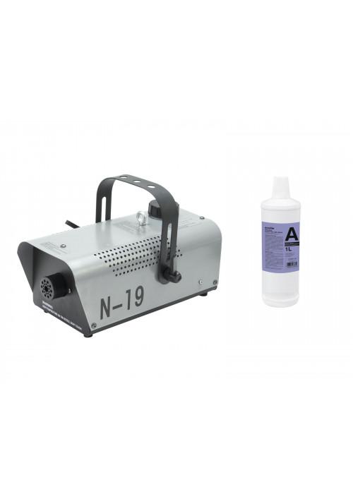 Set N-19 Smoke machine silver + A2D Action smoke f