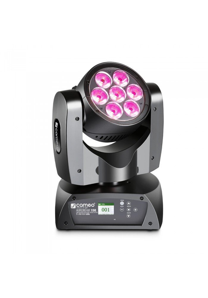 AURO BEAM 150 - 7 x 15 W RGBW LED Unlimited Moving