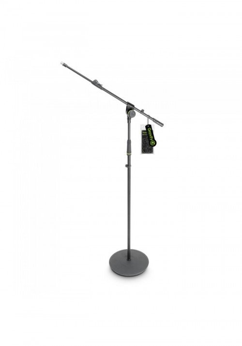 MS 2321 B - Microphone Stand with Round Base and 2