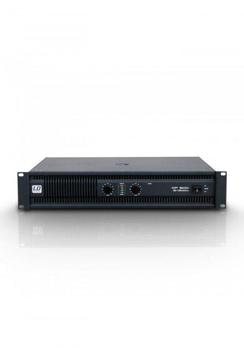 DEEP2 600 - PA Power Amplifier 2 x 300 W 2 Ohms