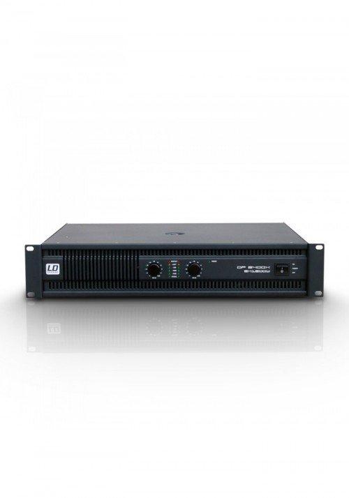 DEEP2 2400 X - PA Power Amplifier 2 x 1200 W 2 ohm