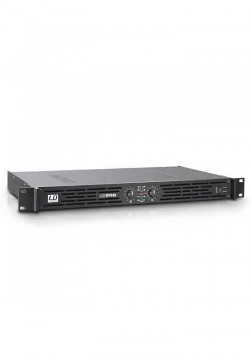 XS 200 - PA Power Amplifier Class D 2 x 100 W 4 Oh