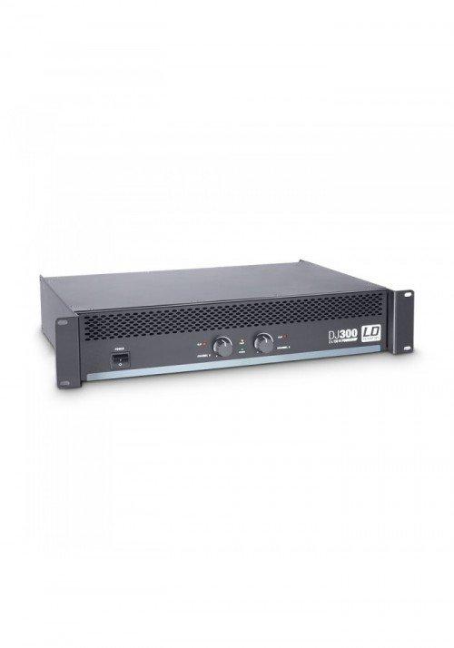DJ 300 - PA Power Amplifier 2 x 150 W 4 Ohm