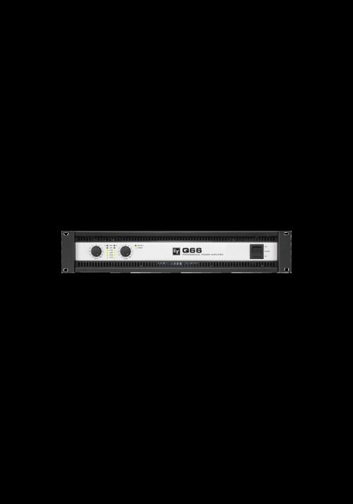 Q66-II Forstærker 2x600W/4Ohm 2U