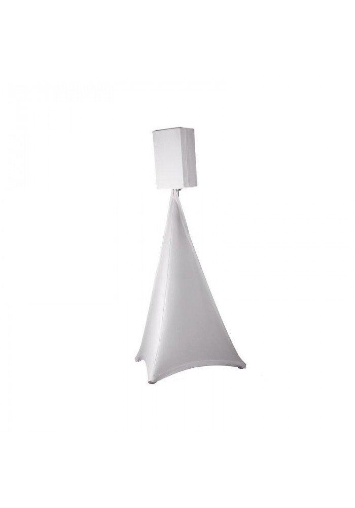 Stativ Cover Hvid 2 Sider Pro 110cm - 220cm
