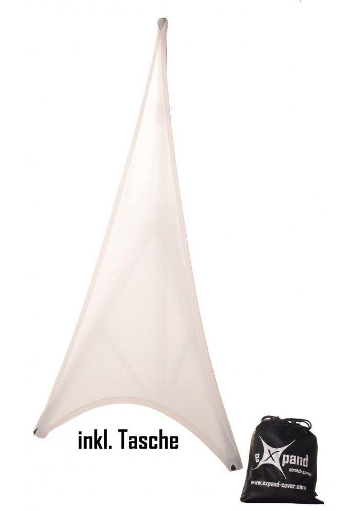 Stativ Cover Hvid 1 Side Pro 160cm - 280cm