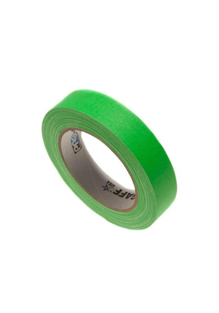 Gaffatape Glow 24mm x 22,8m Grøn