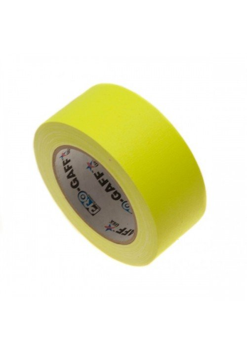 Gaffatape Glow 48mm x 22,8m Gul