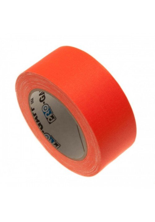 Gaffatape Glow 48mm x 22,8m Orange