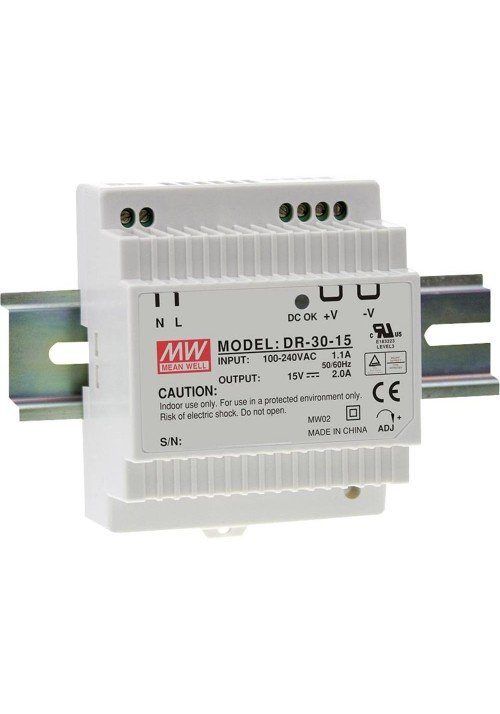 DR-30-12 DIN Rail PSU for dmx splitter and cores