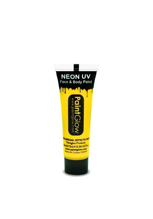 UV Krop- og ansigtsmaling gul