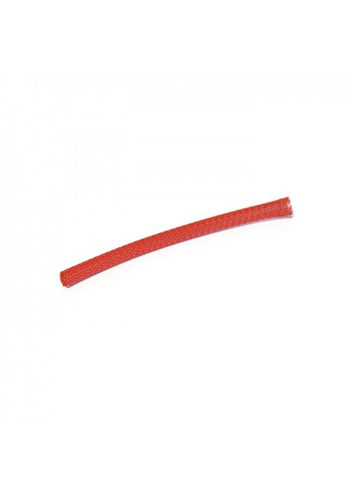 Kabelstrømpe 3mm Rød