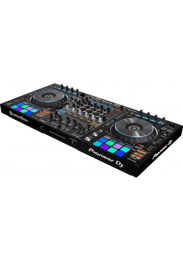 DDJ-RZ - DDJ-RZer flagskibscontrolleren til Pioneers egen DJ-software Rekordbox DJmed den grafiske brugerflade integreret i knapper på controlleren. Denne controller indeholder alt til den professionelle og kompromisløse DJ.Den harNeedle Search, Grid Adjust,tr