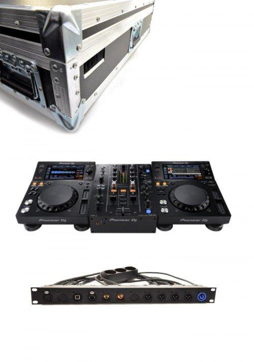 XDJ700/DJM450 Pakketilbud Inkl Kasse og Panel