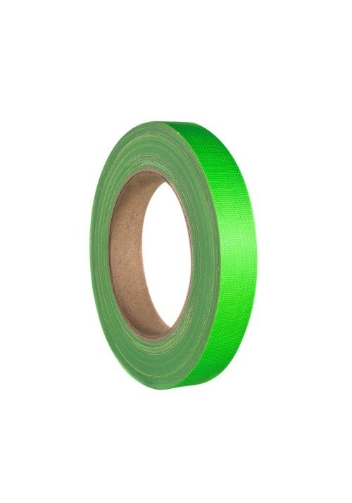 Gaffa Tape Neon Grøn 19mm x 25m