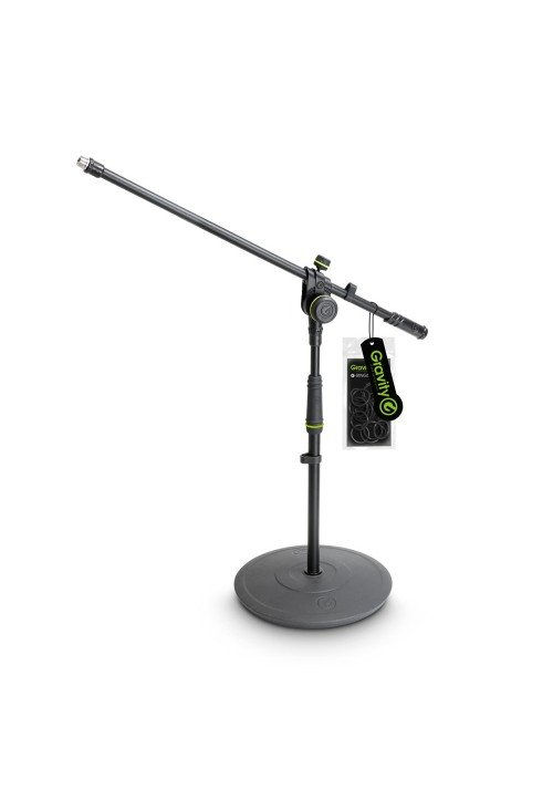 MS 2221 B - Short Microphone Stand with Round Base