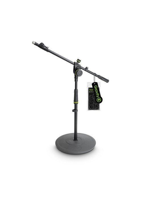 MS 2222 B - Short Microphone Stand with Round Base