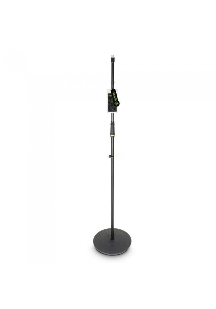 MS 23 - Microphone Stand with Round Base black