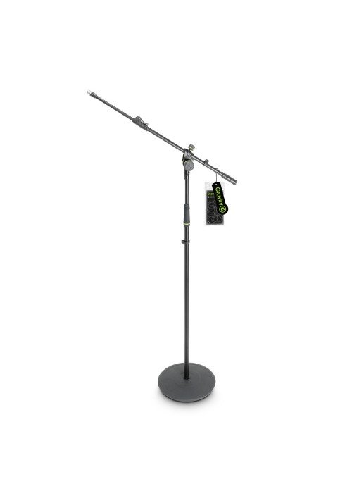 MS 2322 B - Microphone Stand with Round Base and 2