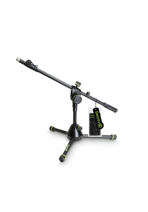 MS 3122 HDB - Short Heavy Duty Microphone Stand wi