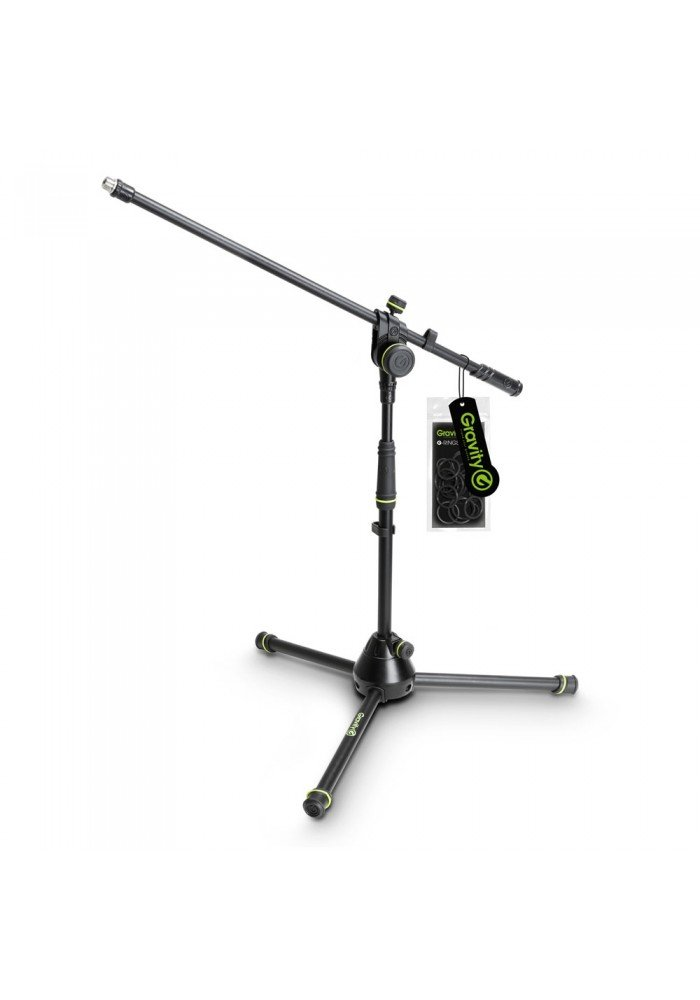 MS 4221 B - Short Microphone Stand with Folding Tr