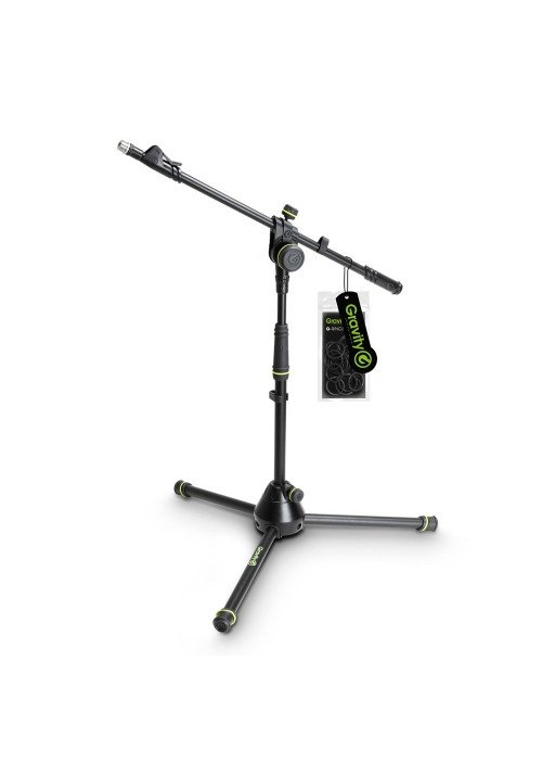 MS 4222 B - Short Microphone Stand with Folding Tr