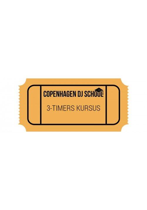 """DJ Kursus """"Intro"""" 3 timer"""