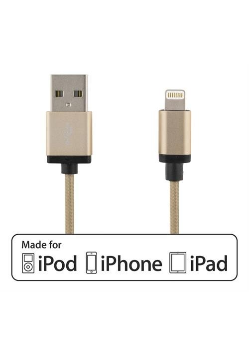 Lightning Cable Gold 2m