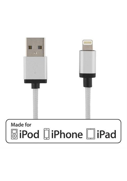 Lightning Cable Silver 1m