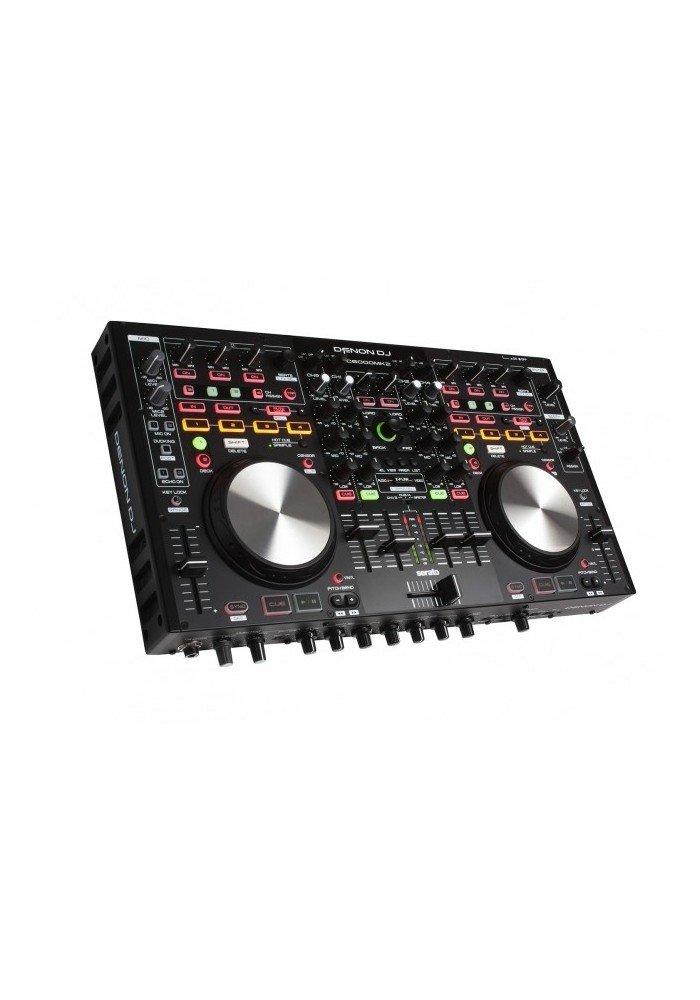MC6000MK2 - MC6000MK2 er en 4-kanals controller til DJ-softwaren Serato og kompatibel til andre softwares såsom Traktor 2, Djay og Virtual DJ. Den indeholder en 4-kanals mixer og to decks med hver fire Hot Cue-knapper og fire effektknapper, der kan dedikeres til hver
