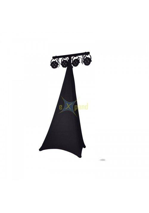 Stativ Cover Sort 2 Sider Pro 160cm - 280cm