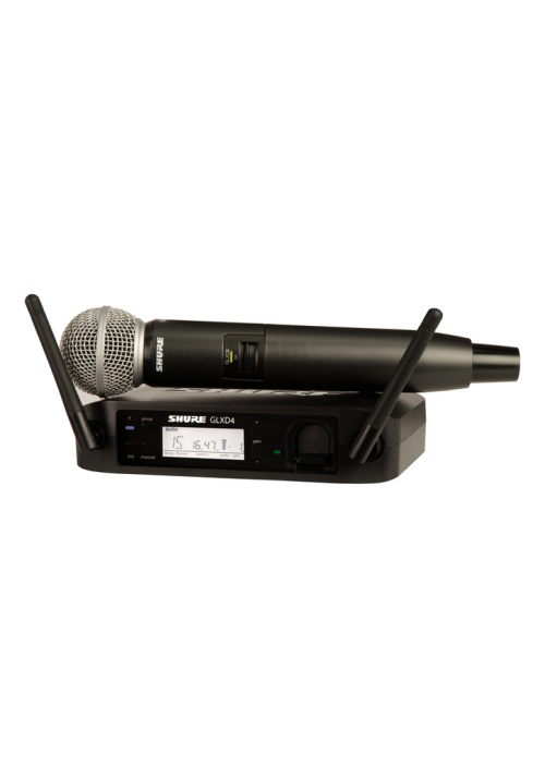 GLXD24E/SM58 Handheld system