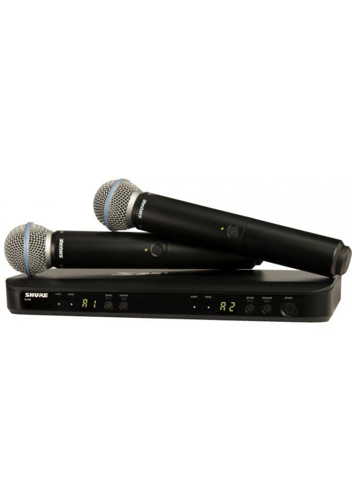 BLX288E/B58-S8 Dual Vocal sys