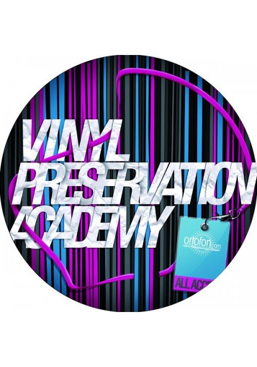 Slipmat Stripes,vinyl preservation academy