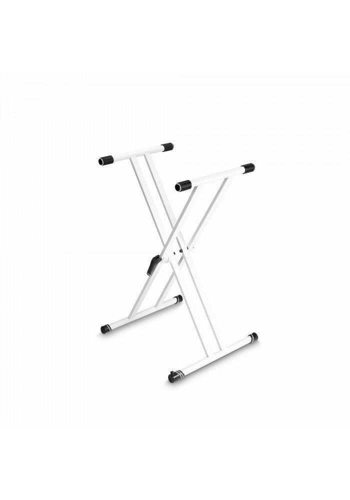 KSX 2 W - Keyboard Stand X-Form double white