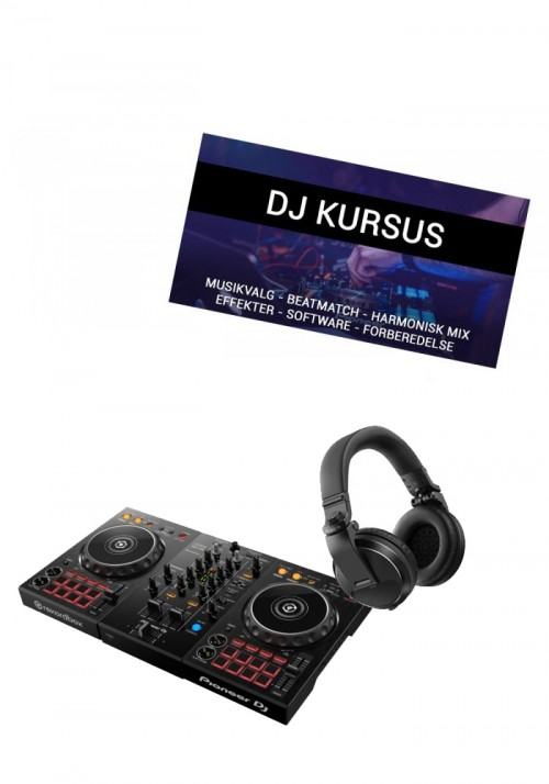DDJ-400, HDJ-X5 og DJ introkursus