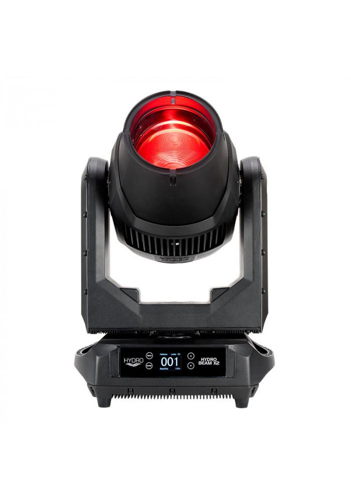 Hydro Beam X2 - Hydro Beam X2 er den krafige storebror til X1'eren. Samme udendørs godkendte kvalitets lampe med endnu kraftigere output. X2'eren har en 370 watts gæspære som skærer igennem røg som var det en varm kniv igennem smør. ADJ's optik og effektive pære med op t