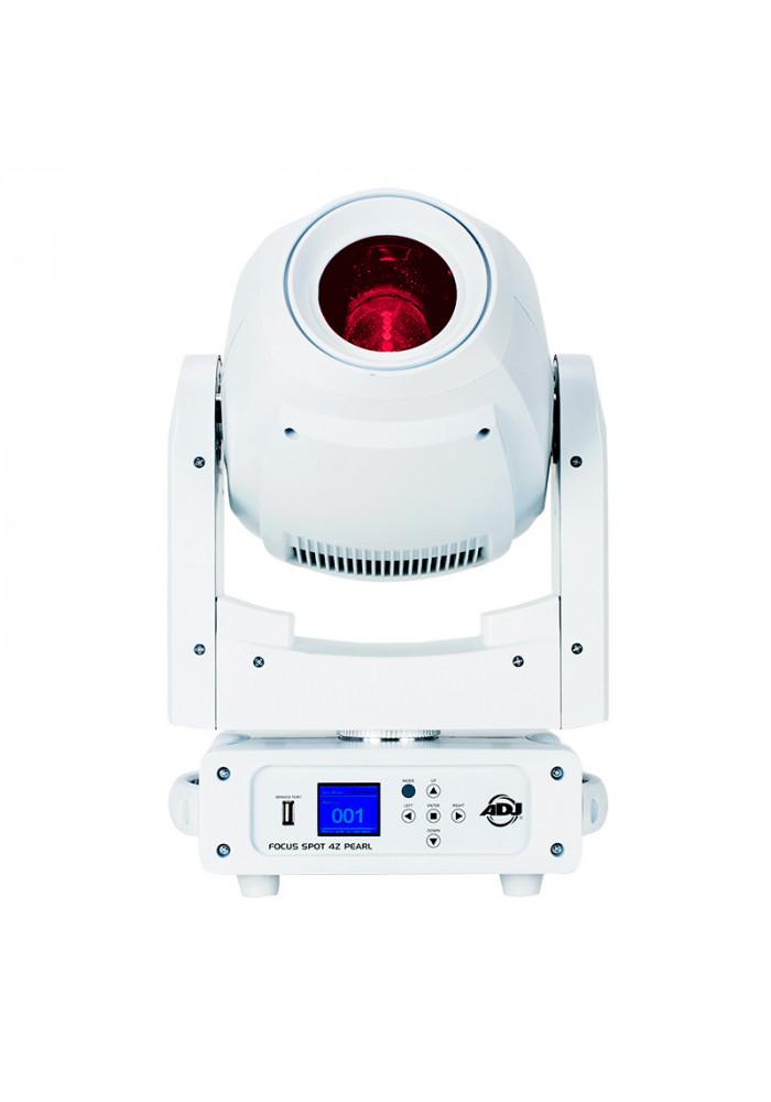 Focus Spot 4Z Pearl - Der findes fed, federe og fedest. Og så findes der Focus Spot 4Z! Focus Spot 4Z er det seneste skud på stammen i Focus serien fra ADJ. Focus Spot 4Z byder blandt andet på en kraftigere lyskilde, hele 200 watt i stedet for 3Zs 100 watt. Focus Spot 4Z byd