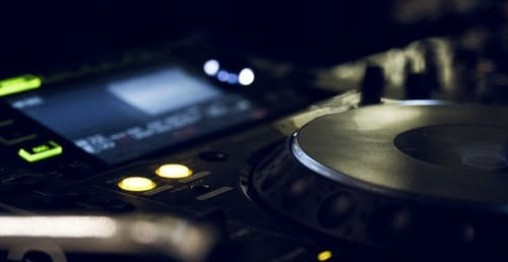 DJ pult Afspillere